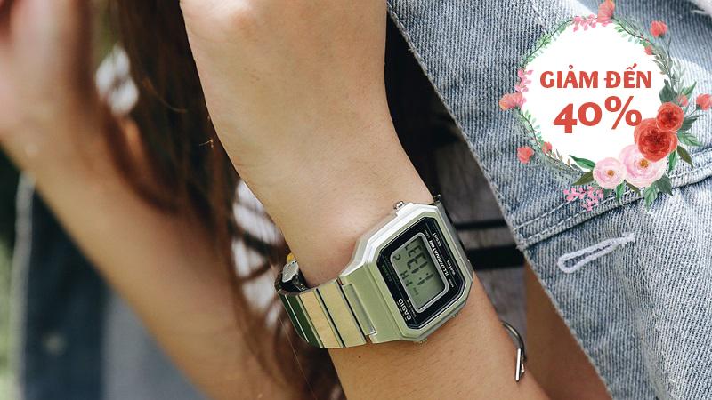 Đồng hồ Unisex Casio B650WD-1ADF