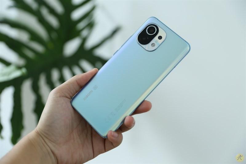 Xiaomi Mi 11 5G được trang bị viên pin 4.600 mAh