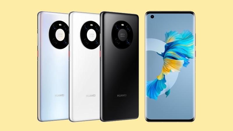 Huawei Mate 40E có các tùy chọn màu sắc như Bright Black, Glaze White và Secret Silver