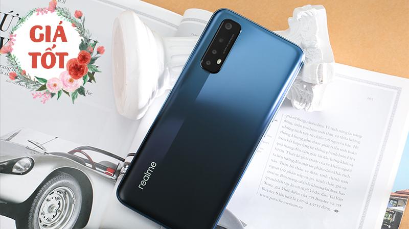 Hotsale cuối tuần cùng Realme 7 và Realme 7i giảm giá tiền trăm kèm trả góp 0%, cả 2 đều có pin lâu 2 ngày rất đáng mua