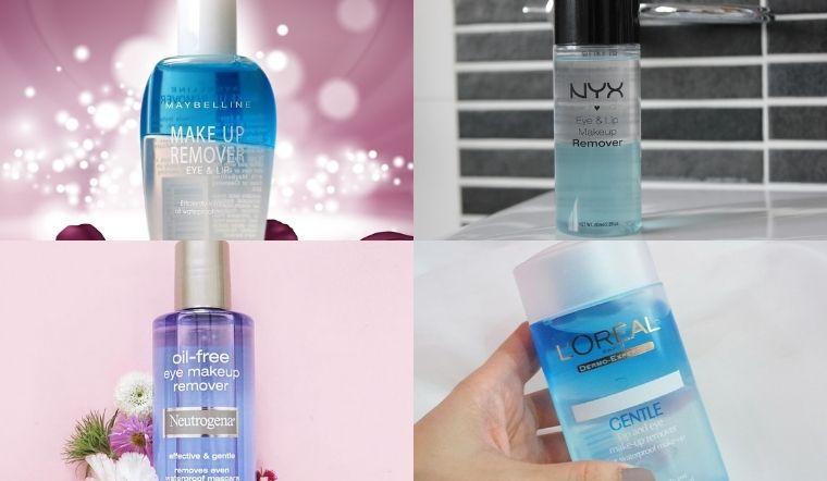 Top 5 nước tẩy trang cho mắt và môi hiệu quả nhất hiện nay dành cho các cô nàng hay makeup