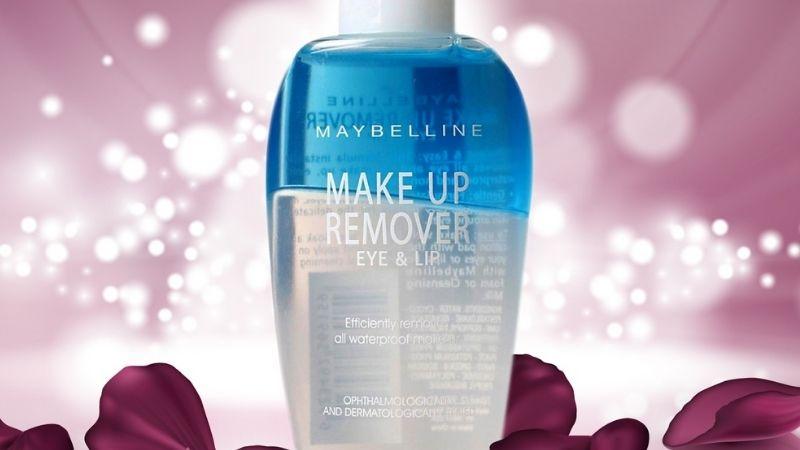 Nước tẩy trang Maybelline Makeup Remover For Eye & Lip