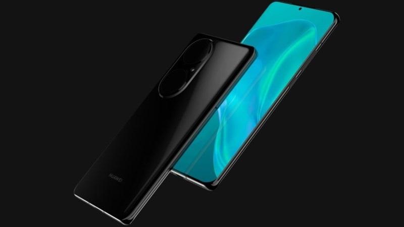Huawei P50 lộ ảnh render: Màn hình 6.3 inch, camera sau lạ mắt
