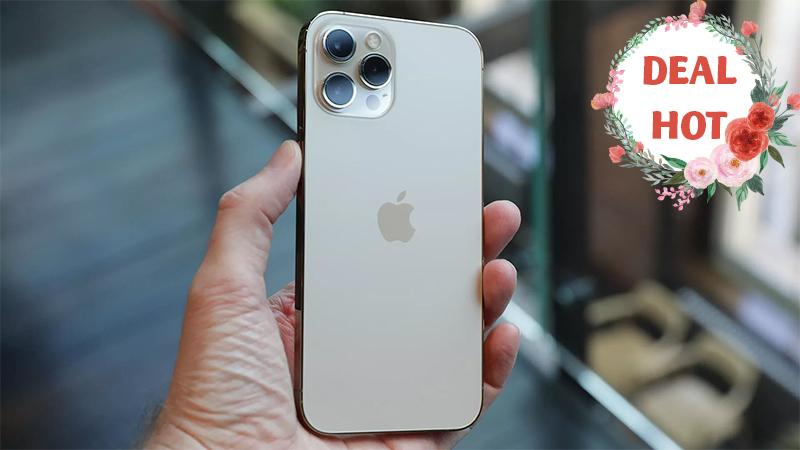 Ưu đãi hiếm có chỉ còn 2 hôm: iPhone 12 Pro Max giảm sâu đến 4.5 triệu
