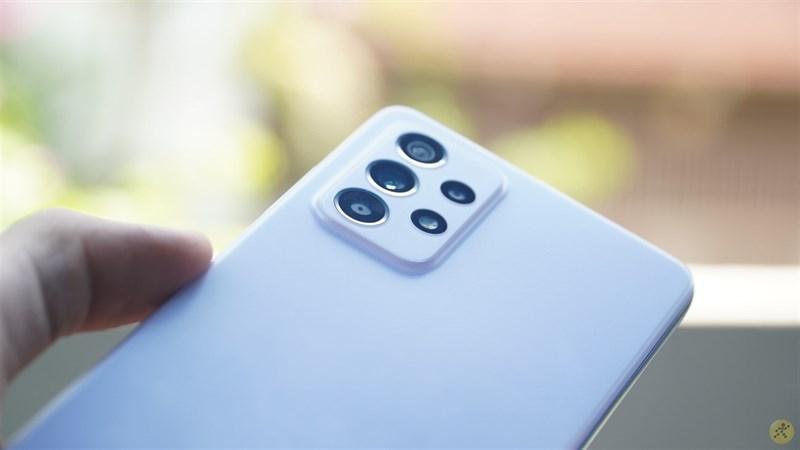 Thông số cụm 4 camera trên Samsung Galaxy A52 khá 'khủng'.