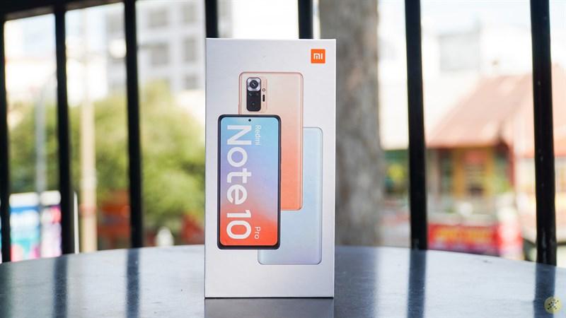 Xiaomi Redmi Note 10 Pro để lại cho người đọc nhiều ấn tượng