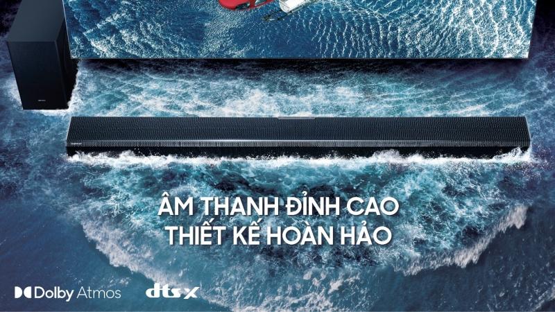 Samsung giới thiệu loạt sản phẩm loa thanh 2021 tại thị trường Việt Nam
