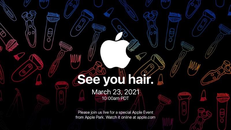 Apple gửi thư mời sự kiện 'See you hair' vào 23/3, sẽ có AirPods 3?