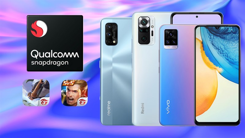 Điện thoại dùng chip Snapdragon