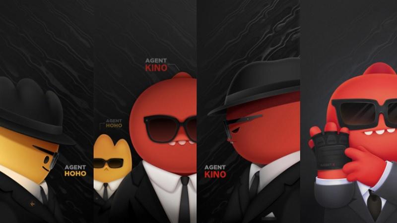 Mời bạn tải về bộ hình nền của Redmi K40 với hai nhân vật Kino và Hoho
