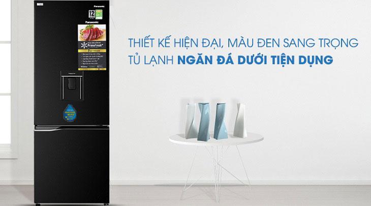 Tủ lạnh Panasonic Inverter dòng BV-WK/WS thuộc dòng tủ lạnh ngăn đá dưới với nhiều tiện ích