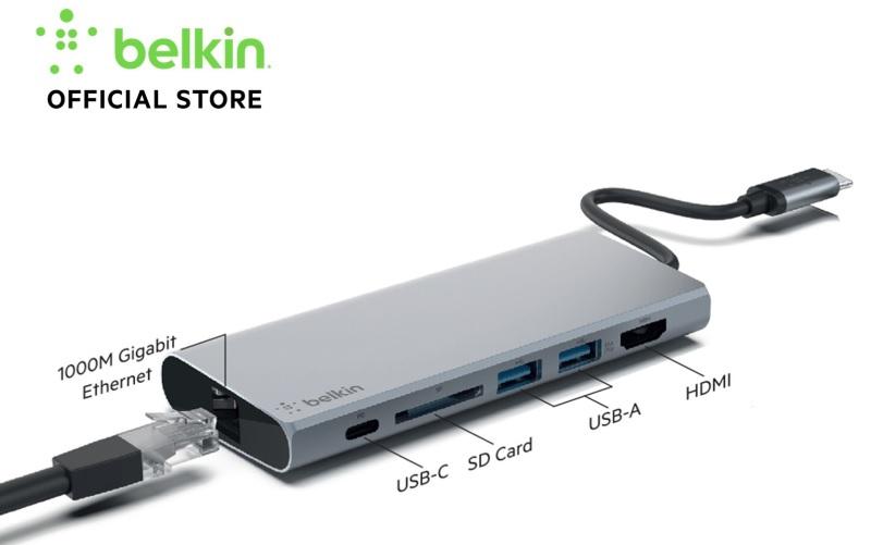 bộ chuyển đổi USB Type-C sang các cổng chuyên dụng dành cho MacBook và UltraBook Window đến từ Belkin