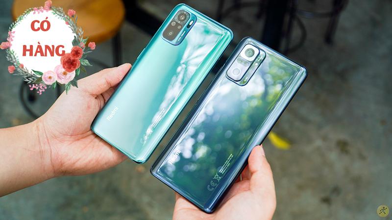 Redmi Note 10 series có hàng trưng bày, đến siêu thị trải nghiệm ngay