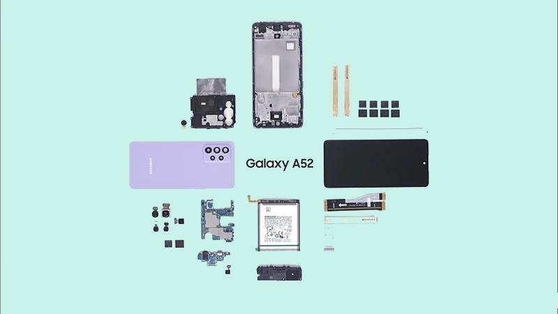 Linh kiện của Galaxy A52