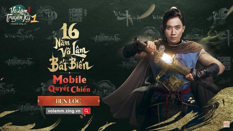 Trấn Thành bất ngờ làm đại sứ cho tựa game Võ Lâm Truyền Kỳ 1 Mobile