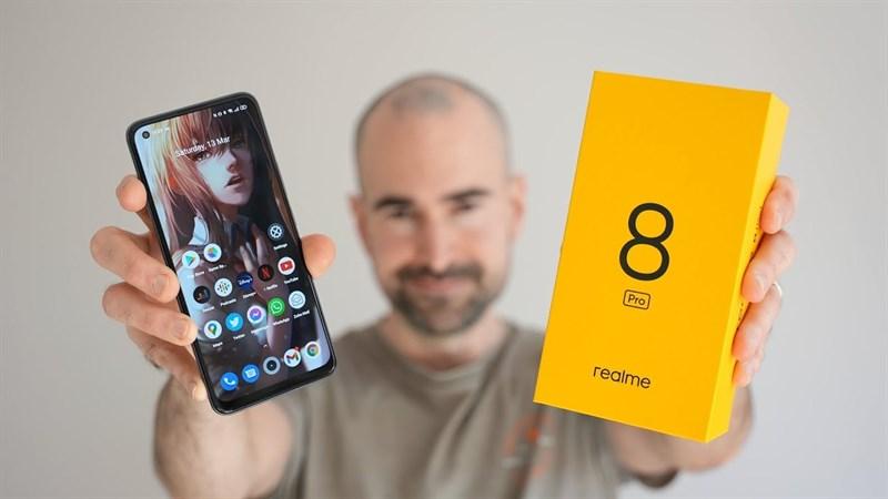 Dòng Realme 8 sắp ra mắt với giao diện Realme UI 2.0, Realme 8 Pro sẽ hỗ trợ sạc nhanh lên tới 50W