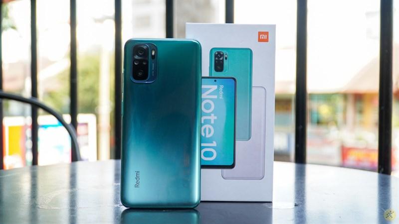 Thiết kế tổng thể của Xiaomi Redim Note 10