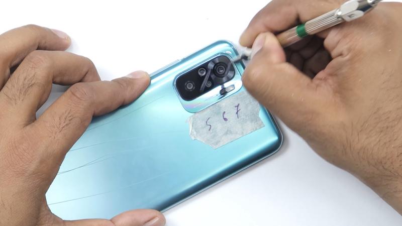 Test độ bền Redmi Note 10