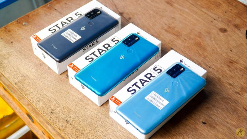 Vsmart Star 5 hiện có 3 tùy chọn màu sắc với mức giá rất hấp dẫn.