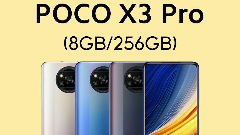 POCO X3 Pro lộ cấu hình và giá bán hấp dẫn tại Việt Nam: Dùng chip Snapdragon 860, màn hình 120Hz, pin 5.160mAh và...