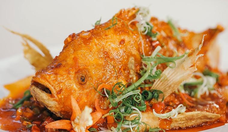 Cuối tuần đổi vị với cá diêu hồng sốt xí muội thơm ngon