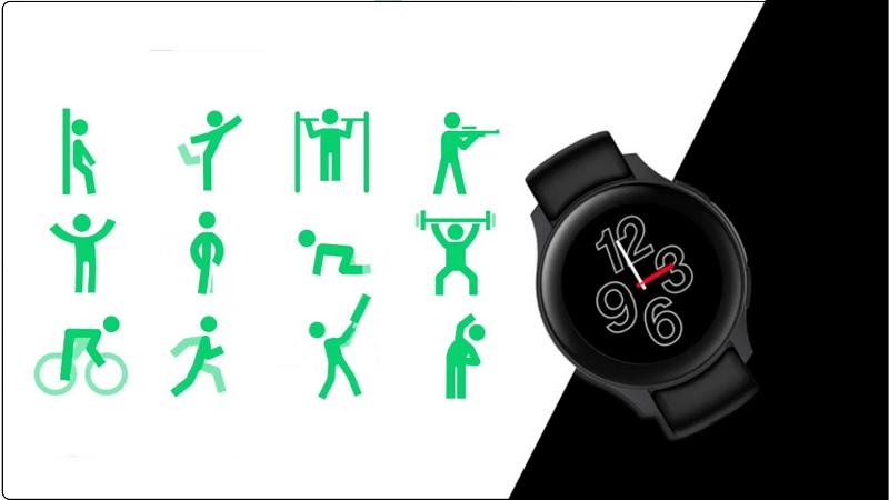Đồng hồ thông minh OnePlus Watch hỗ trợ hơn 110 chế độ tập luyện cùng nhiều tính năng khiến người đeo thích mê