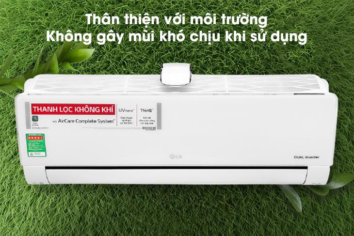 Công nghệ độc quyền UVnano trên máy lạnh LG.