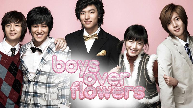 Boys over flowers - Vườn sao băng