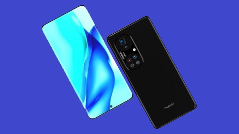 Huawei P50 Pro+ rò rỉ ảnh render