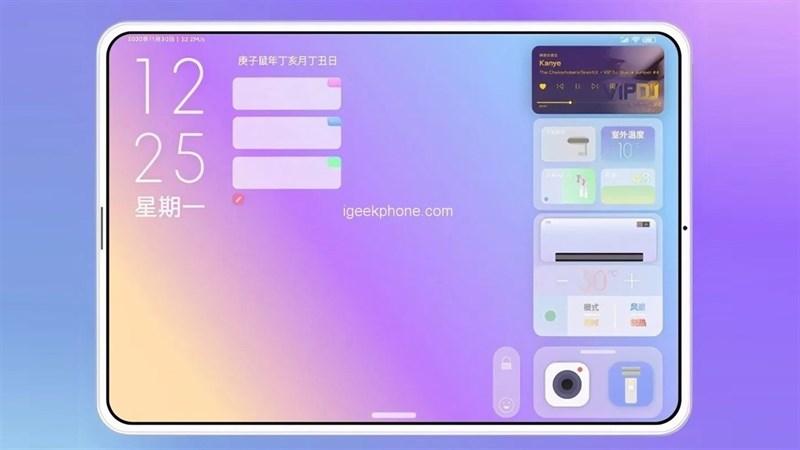 Máy tính bảng Xiaomi Mi Pad 5 sẽ đi kèm với màn hình 11 inch có tốc độ làm tươi cao giống như iPad Pro 11 inch