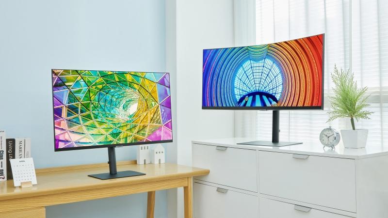 Samsung ra mắt loạt màn hình độ phân giải cao đời 2021, cong hay phẳng đều có đủ, hỗ trợ HDR10 và 1 tỷ sắc màu