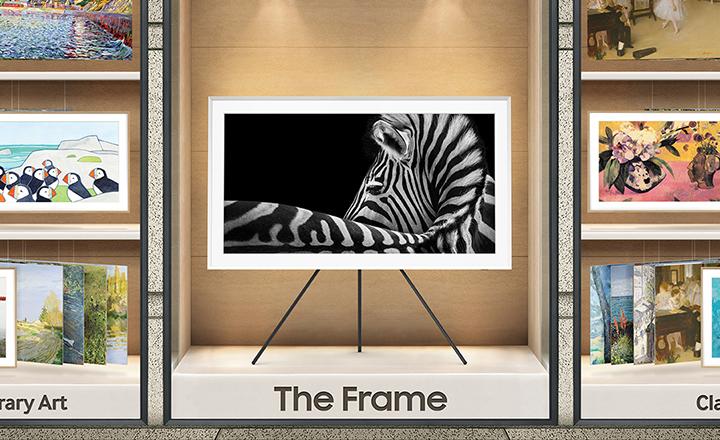 The Frame - Hiển thị 100% dải sắc màu
