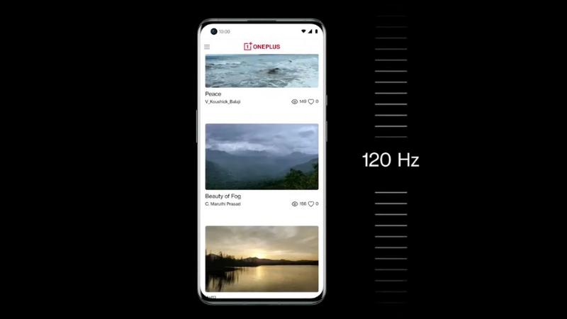 Màn hình của OnePlus 9 Pro cũng hỗ trợ tốc độ làm tươi lên đến 120 Hz.