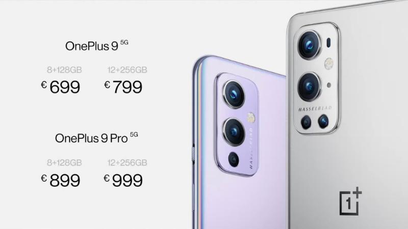 Giá bán của OnePlus 9 Series tại thị trường Châu Âu.