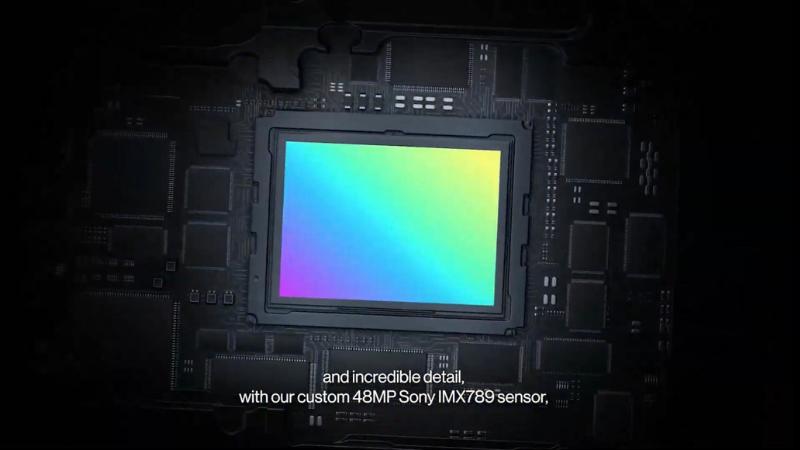 OnePlus 9 Pro cũng được trang bị cảm biến IMX789 mới nhất của Sony.