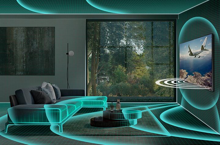 Space Fit điều chỉnh âm thanh phù hợp với không gian