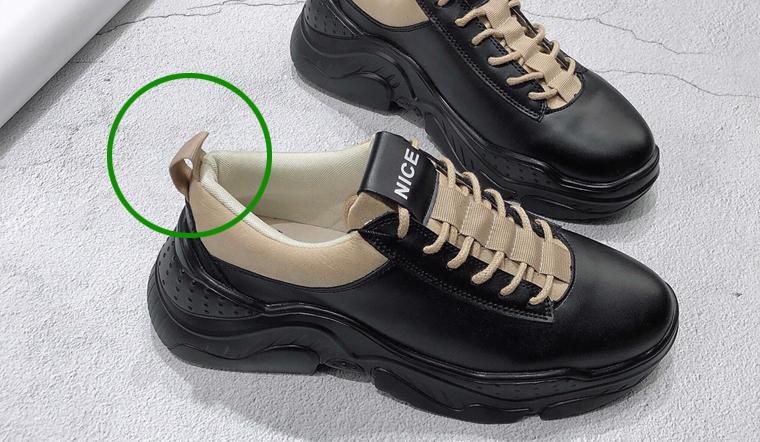 Đi giày thể thao lâu nay, bạn có biết phần đuôi nhỏ phía gót giày có công dụng gì chưa?
