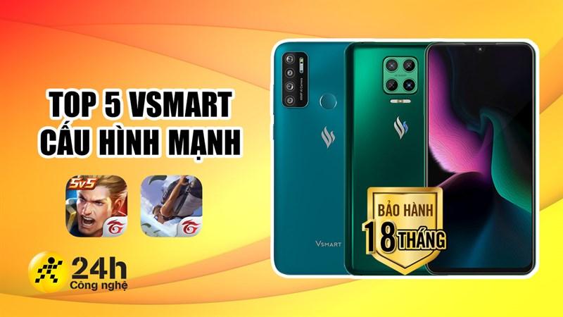 TOP điện thoại Vsmart