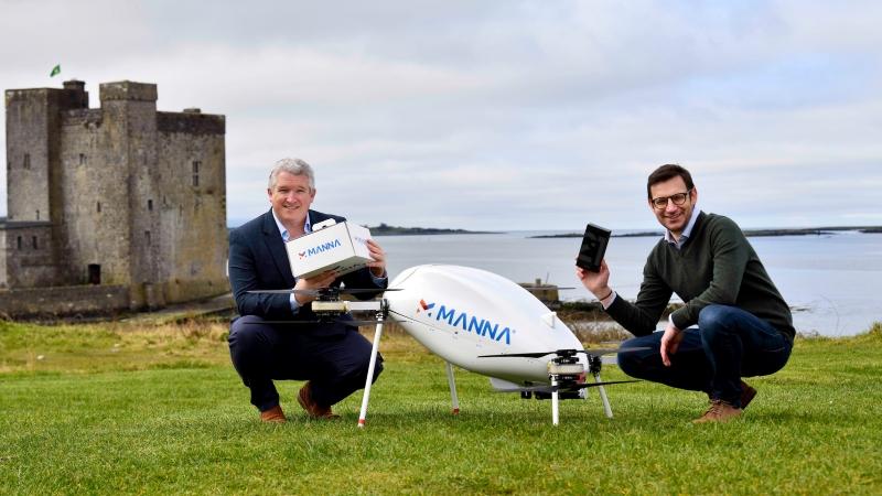 Samsung hợp tác với Manna để triển khai dịch vụ giao hàng bằng máy bay không người lái cho khách hàng