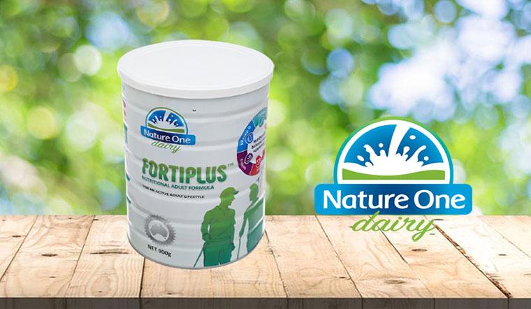 Sữa bột Nature One Fortiplus - Sữa bổ sung dinh dưỡng cho người lớn