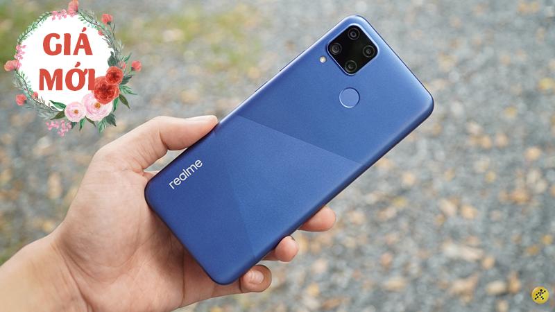 Realme C15 pin siêu khủng 6.000 mAh vừa đổi giá mới, bạn đã biết chưa?
