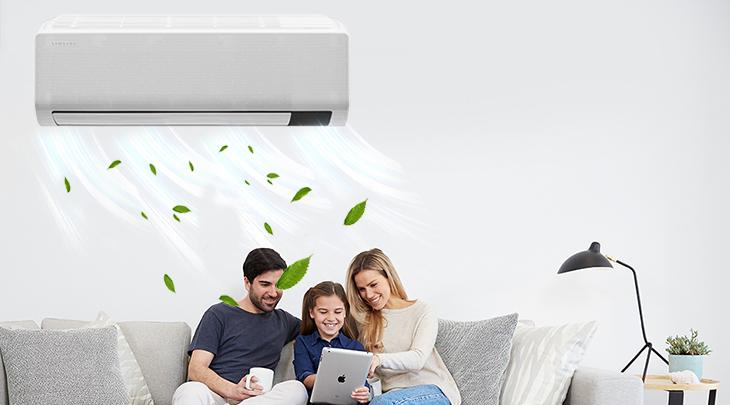 Dòng máy lạnh Inverter cao cấp 2 chiều