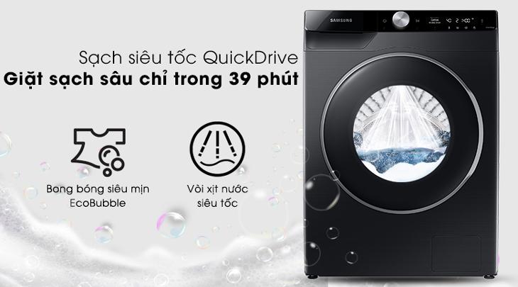 Giặt sạch siêu tốc QuickDrive trong 39 phút