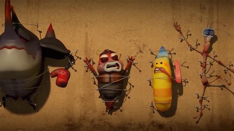 Larva - Những chú ấu trùng tinh nghịch