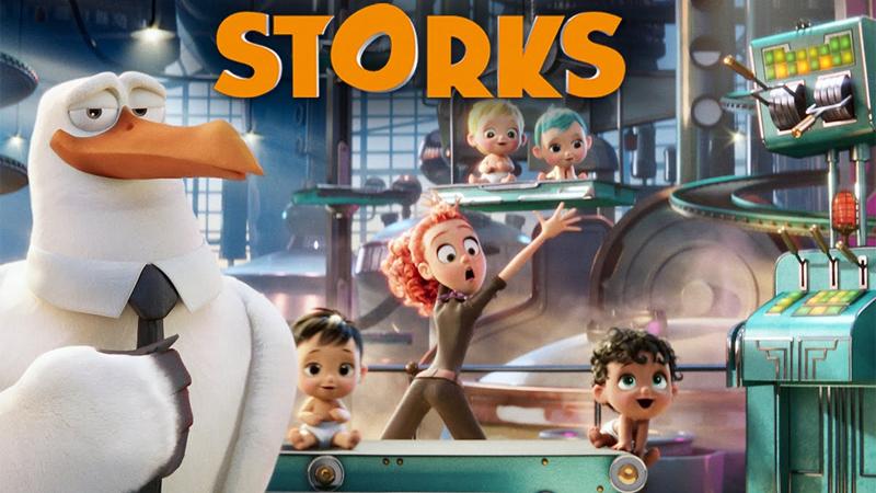 Stork - Tiểu đội cò bay