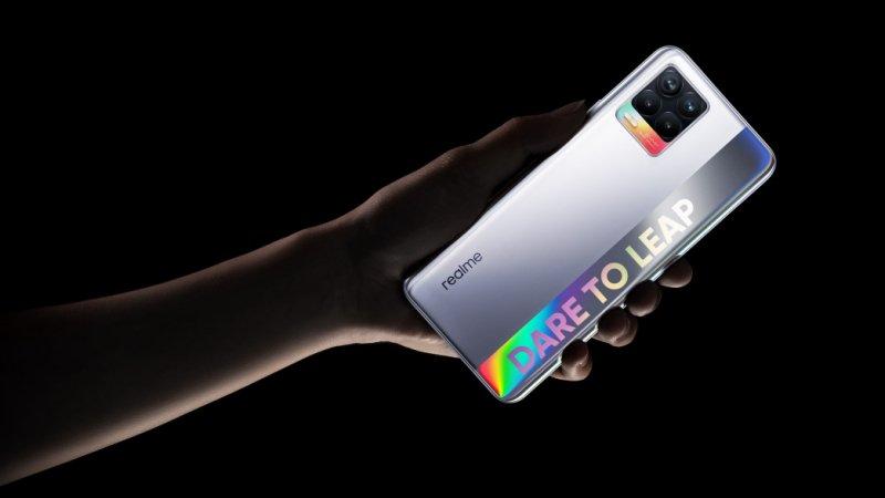 Realme 8 5G được NBTC chứng nhận