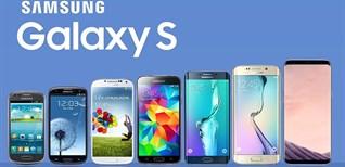 Điểm lại lịch sử dòng Galaxy S đình đám nhà Samsung trong 10 năm qua
