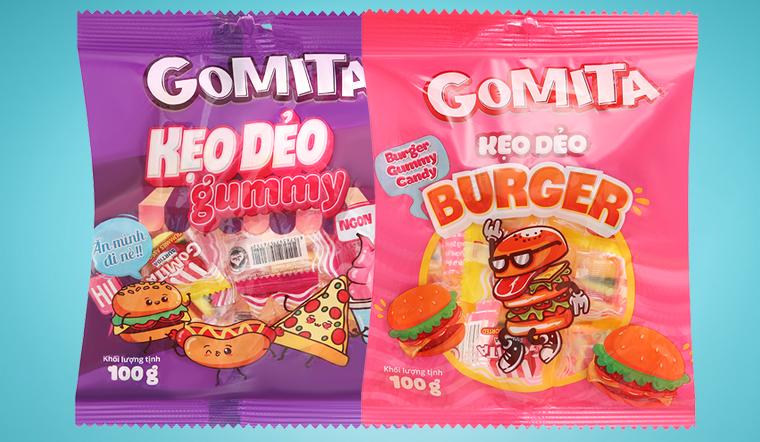 Thích thú với kẹo dẻo Gomita ngọt ngào mới lạ đầy màu sắc