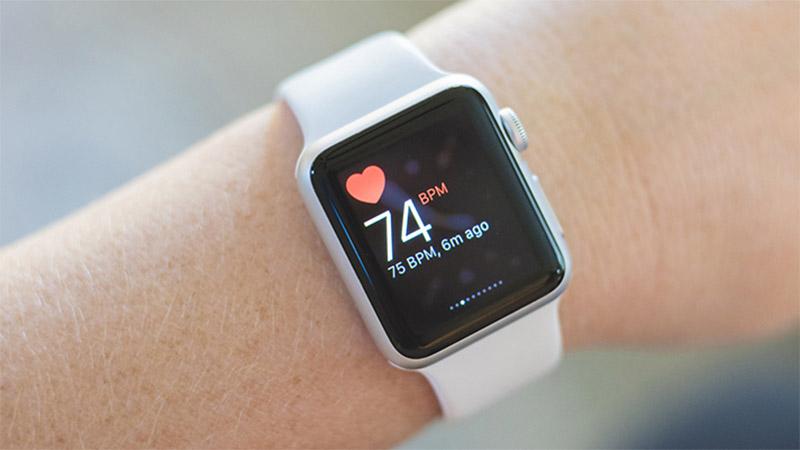 Chức năng đo nhịp tim trên smartwatch