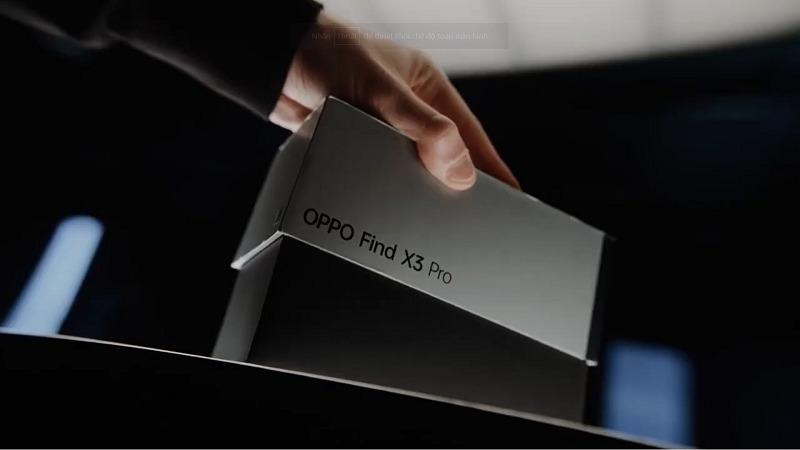 OPPO đập hộp siêu phẩm Find X3 Pro theo phong cách đặt biệt